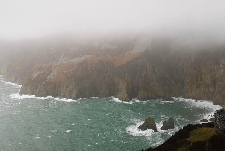 sliabh lig cliffs donegal