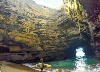 hidden cave in kerry
