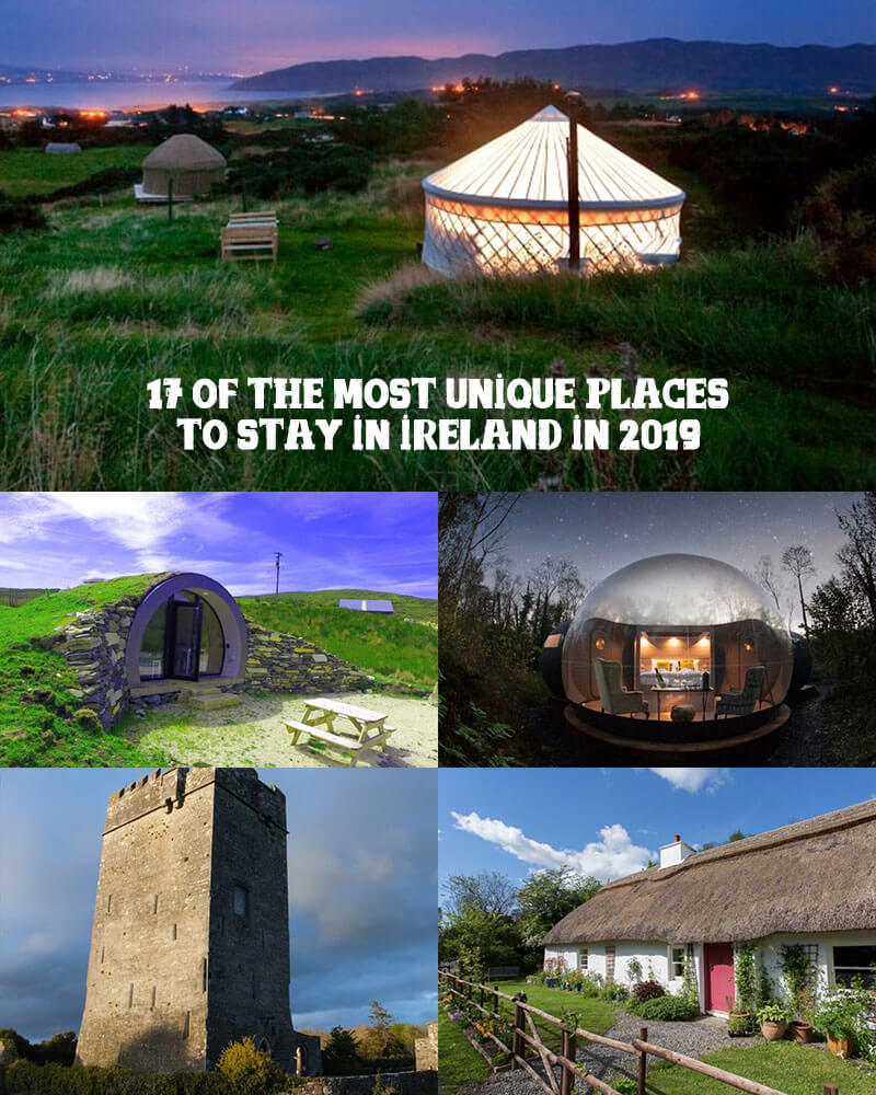 unique places to stay in ireland 2019