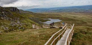 climbing cuilcagh mountain