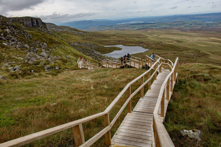 climbing cuilcagh mountain