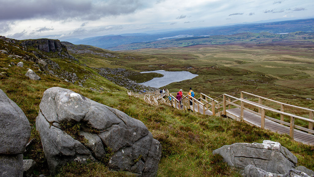 getting from cuilcagh to dublin