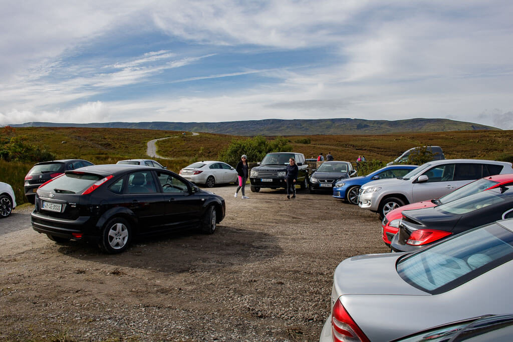 Parking at cuilcagh boardwalk