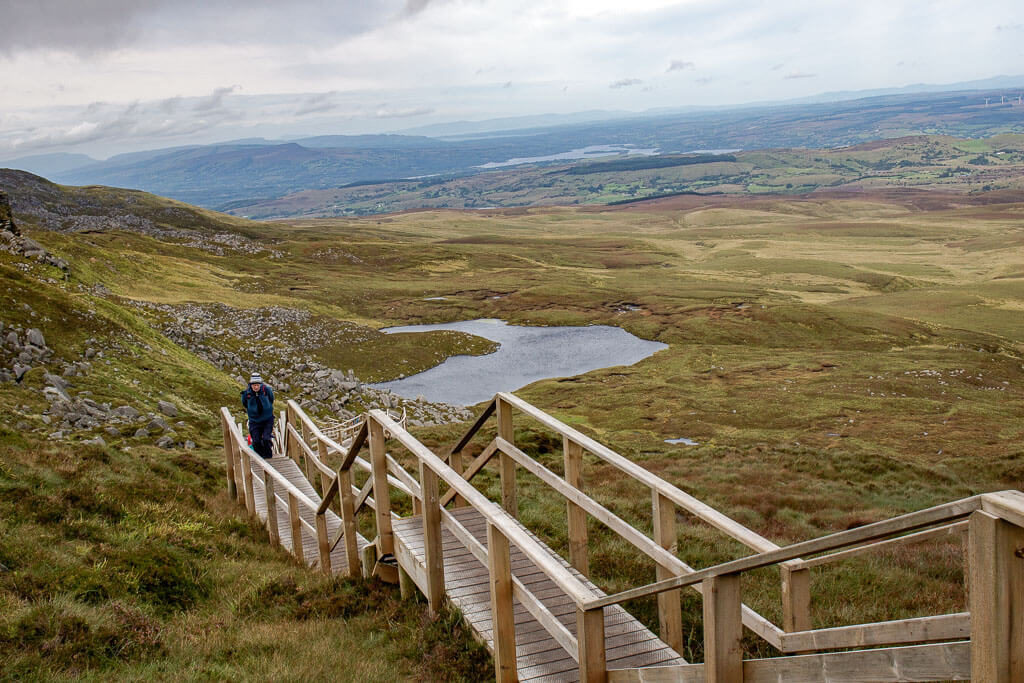 cuilcagh mountain boardwalk