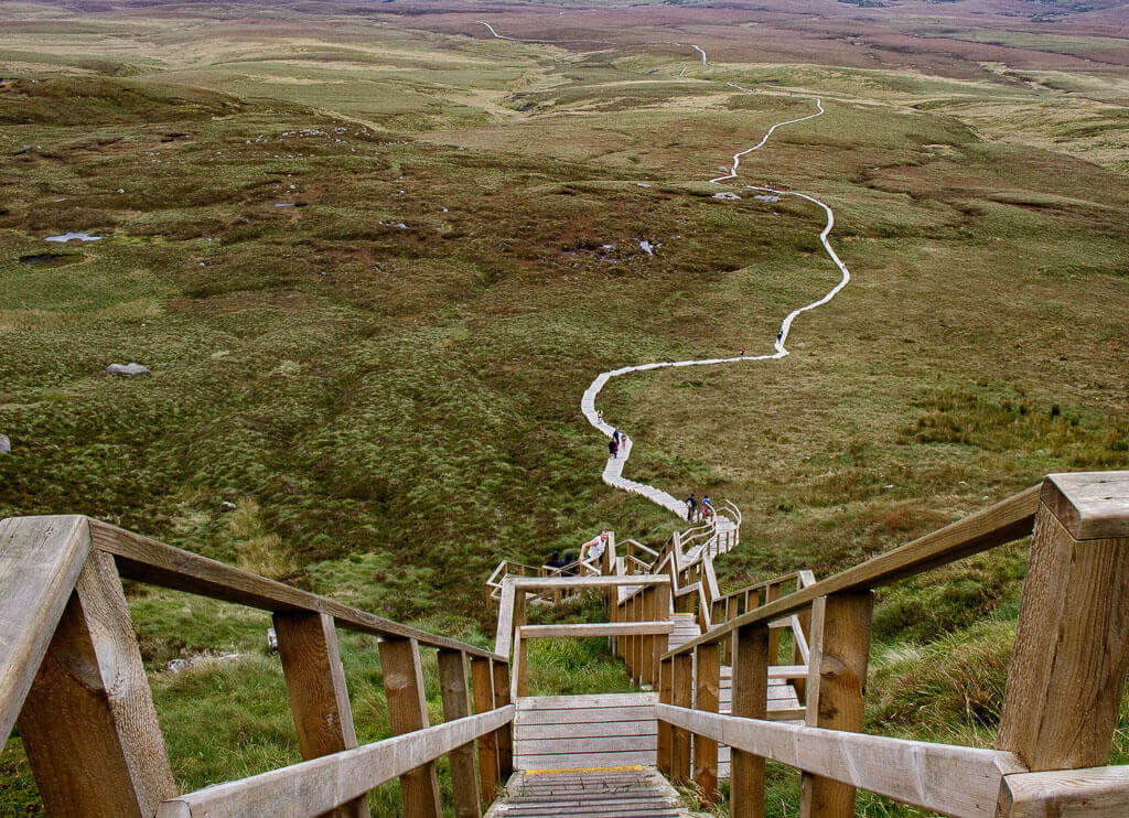 getting from dublin to cuilcagh