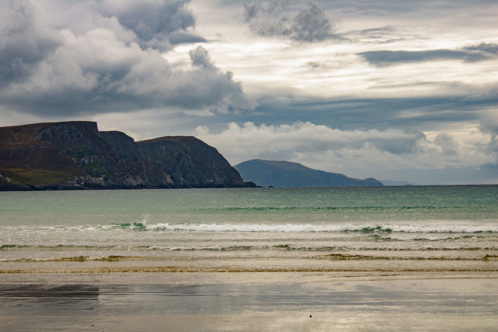 beach on achill