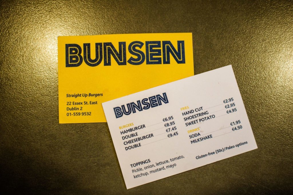 7 nights in ireland eating in bunsen