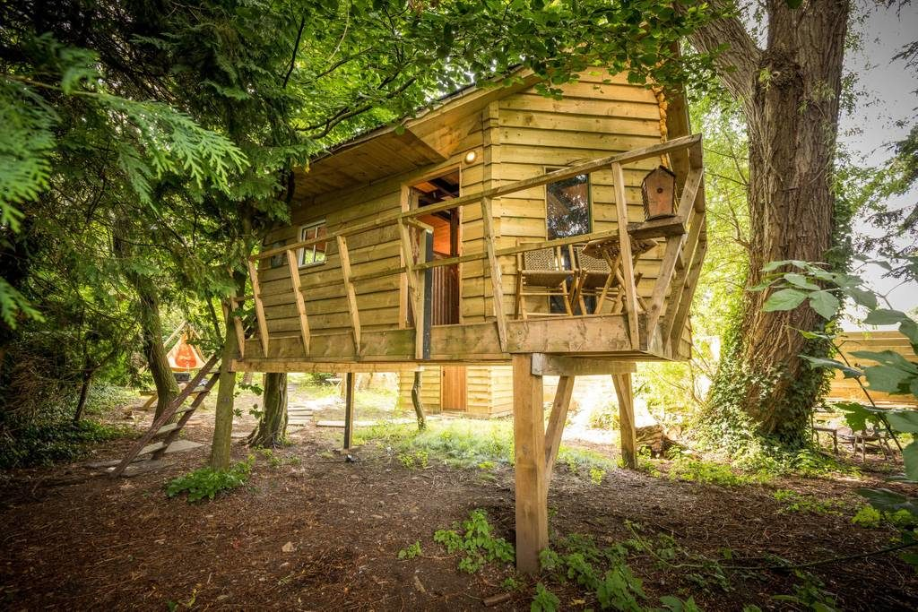 Unique AirBnB's In Ireland the treehouse