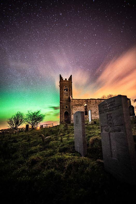 aurora borealis donegal