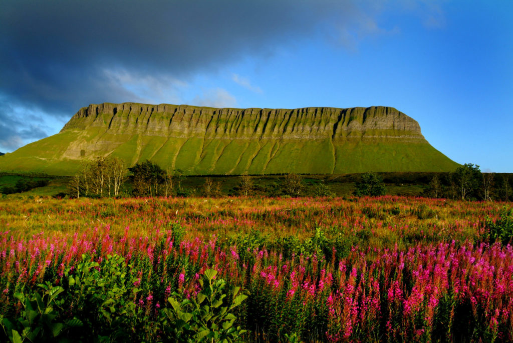 A Colourful Benbulben in sligo