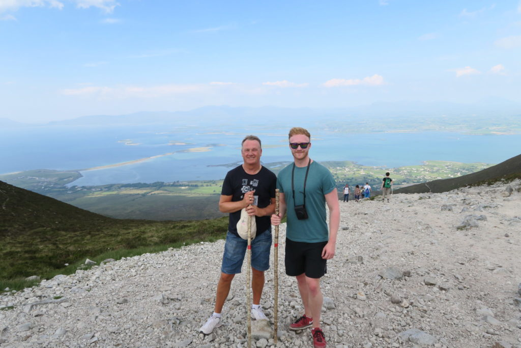 CROAGH PATRICK HALF WAY POINT