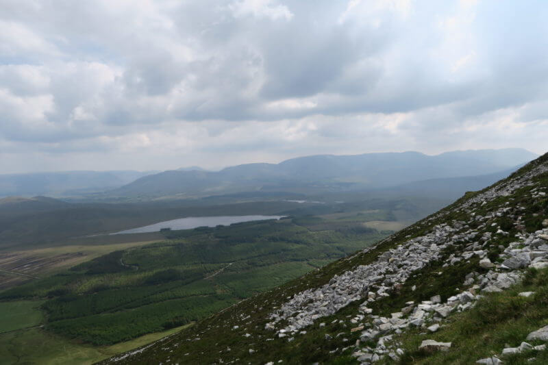 view from croagh patrick