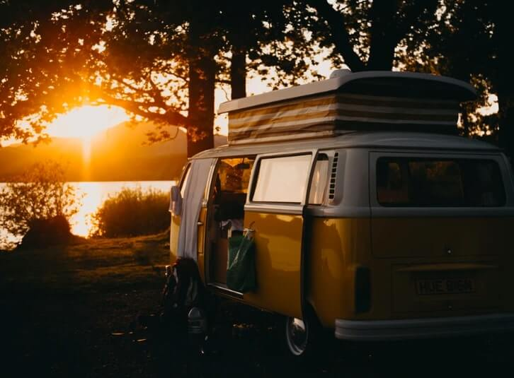 a guide to vw campervan hire ireland