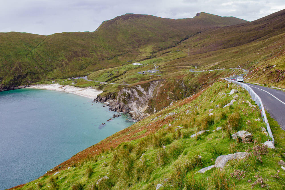 driving on achill island