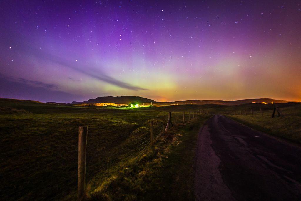 aurora borealis ireland