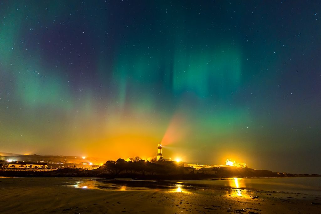 where to see the northern lights in ireland