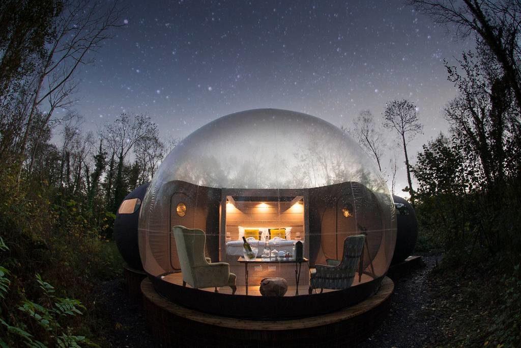 dome to sleep in ireland