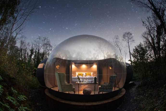 dome to sleep in ireland