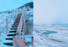 cuilcagh mountain snow
