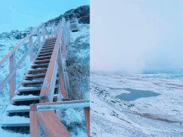 cuilcagh mountain snow