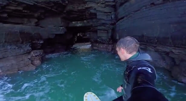 hidden cave in kerry