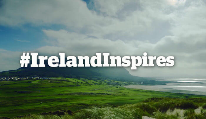 ireland inspires stpatricks day