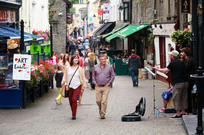 walking in kilkenny town