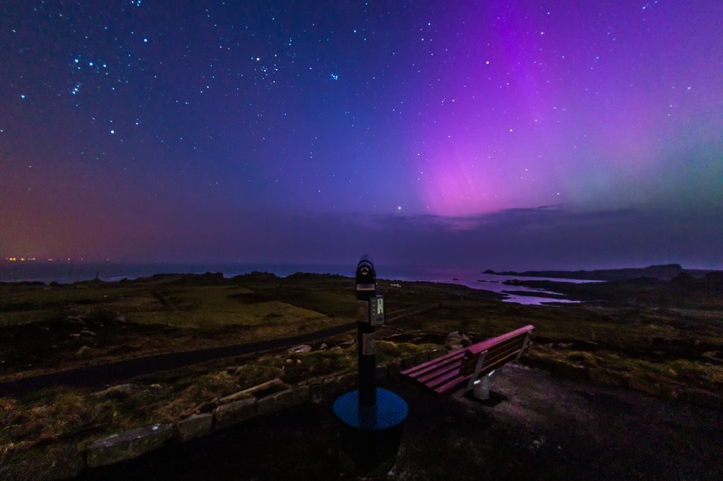 malin head northern lights
