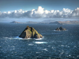 the skellig islands county kerry