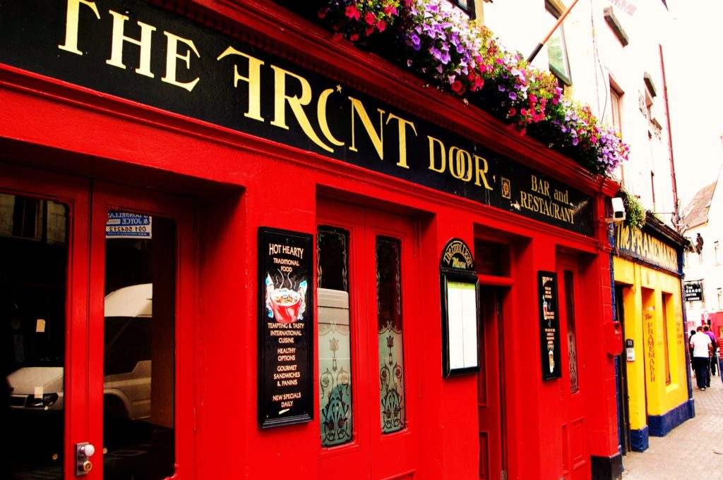 the front door pub galway