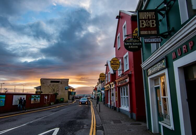 dingle kerry sunset