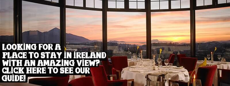 places to stay in ireland with a view