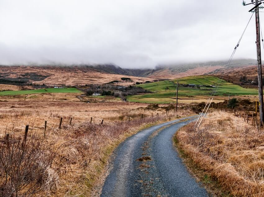 random road in county kerry