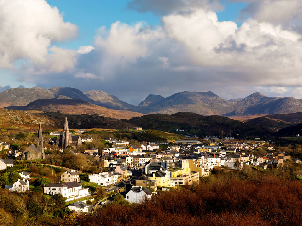clifden town connemara