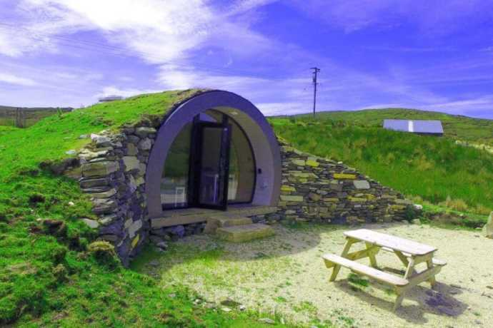 donegal hillpod airbnb
