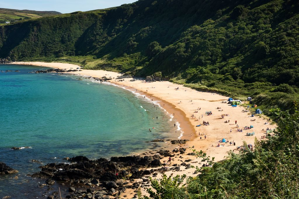 kinnagoe bay donegal