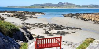 Donegal airbnb with private beach