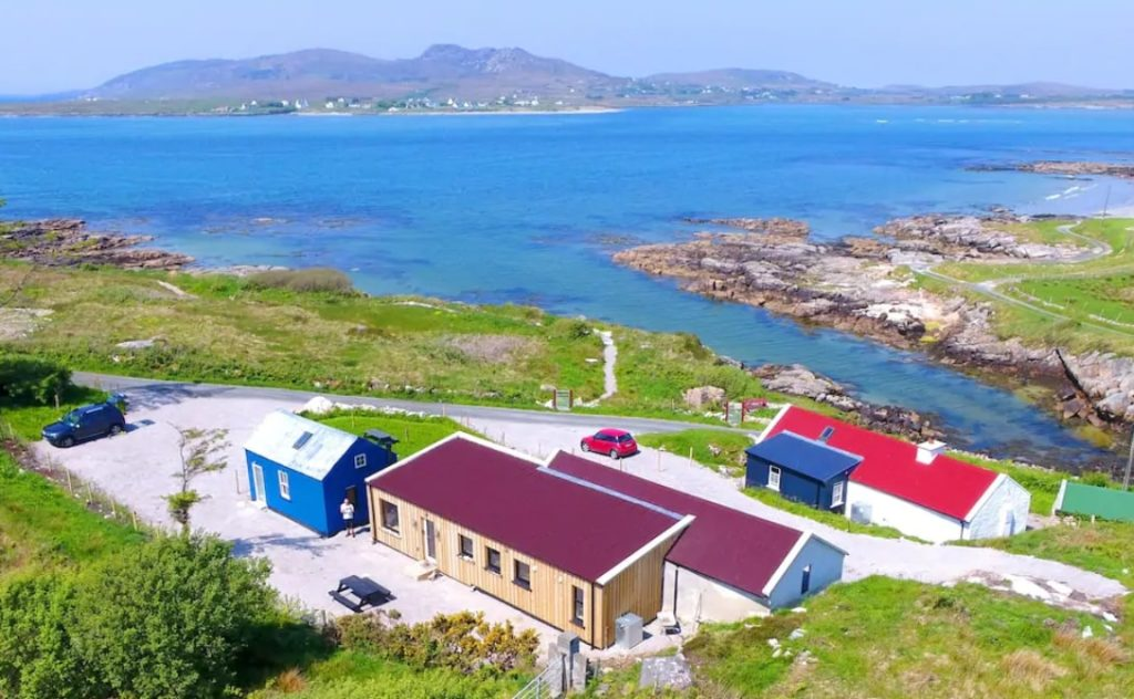 donegal airbnb with a beach