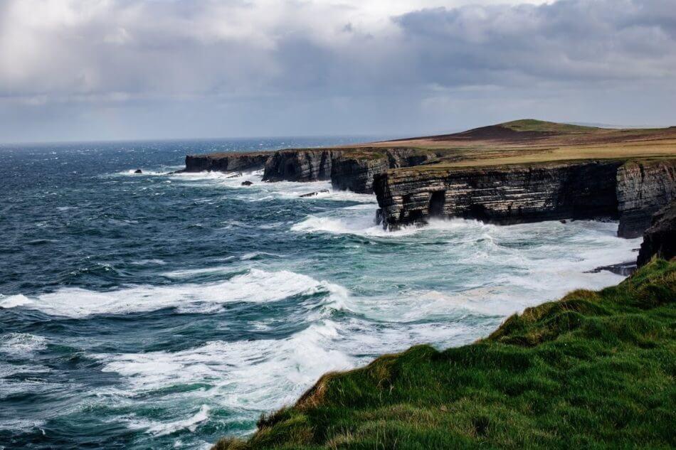 kilbaha cliffs loop head