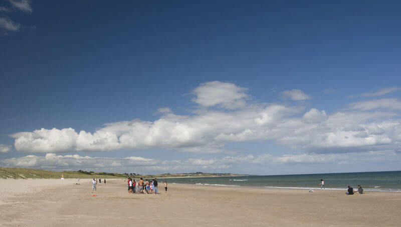 curracloe beach wexford ireland