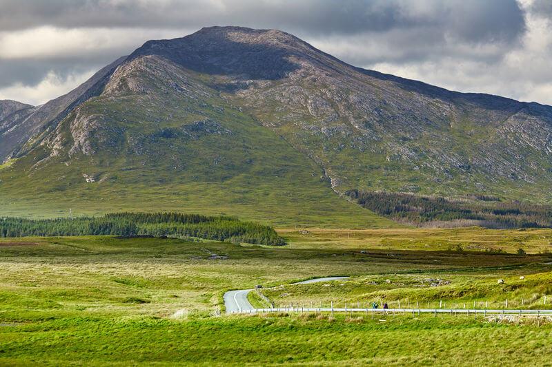 mountains in connemara
