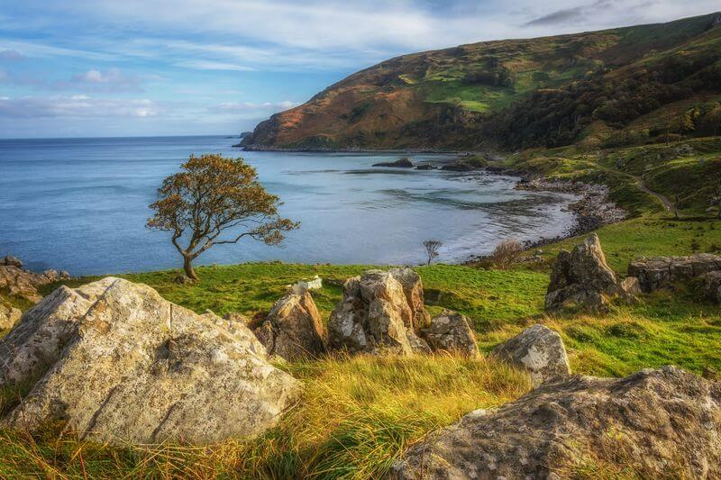 Murlough bay antrim ireland road trip