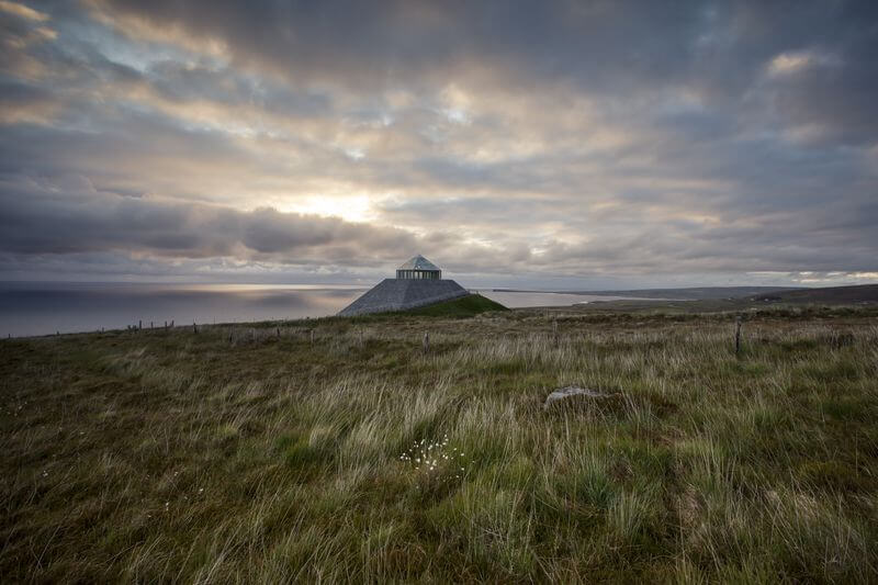 visit Ireland in January - the Céide Fields