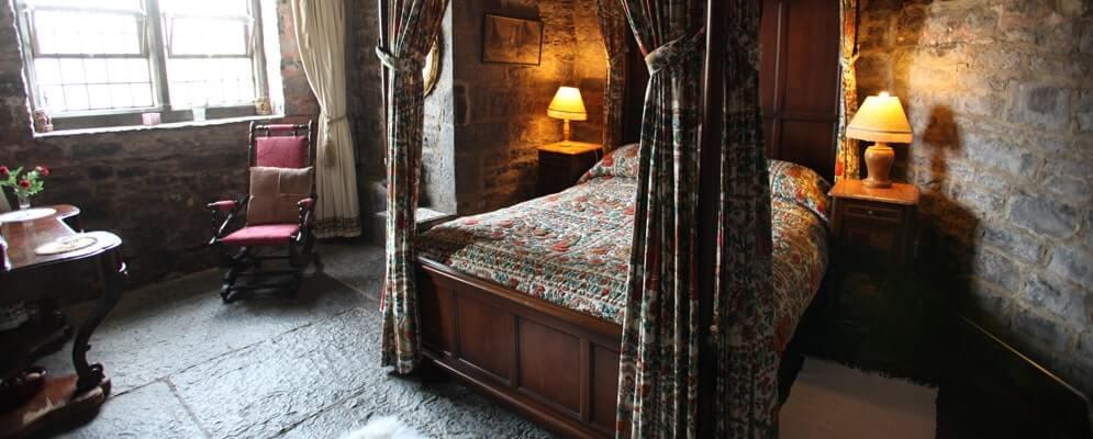 inside ballyshannon castle clare