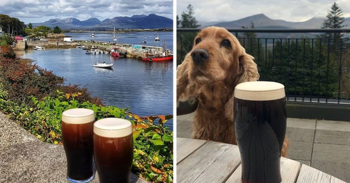 pint with a view ireland