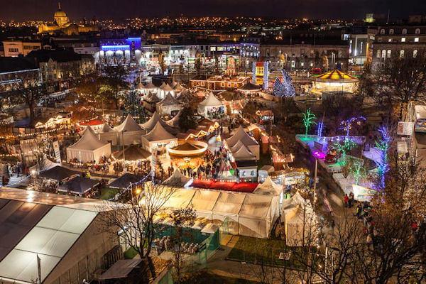 visit Ireland in December