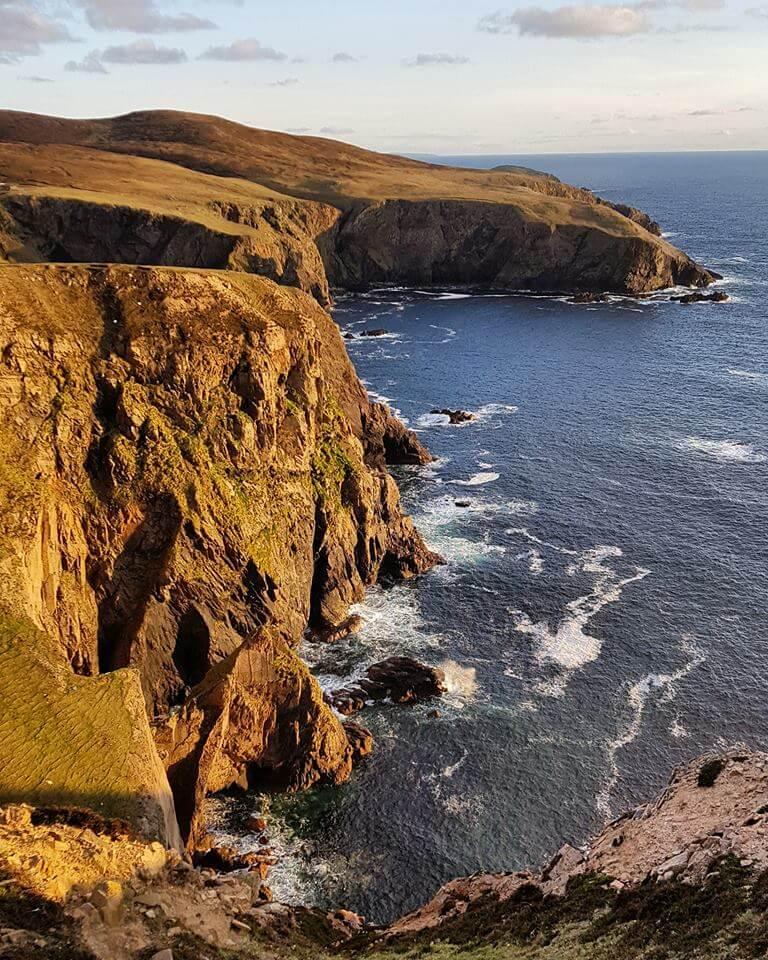 arranmore island cliffs