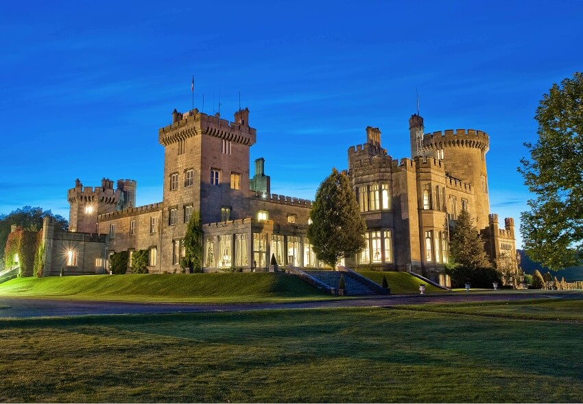 castle to spend a night ireland clare