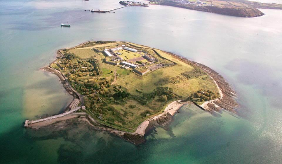 Spike Island aerial photo