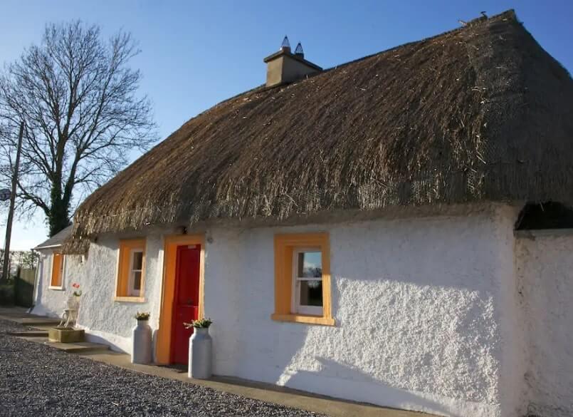 thatch cottage ireland airbnb